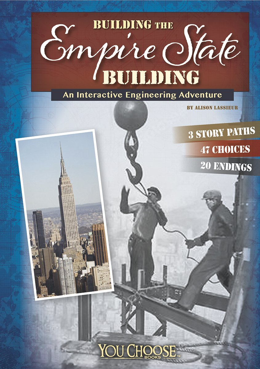 """Empire State Building"" book cover"