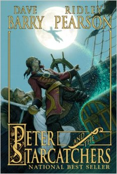 """Peter and the Starcatchers"" book cover"