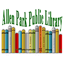 Allen Park Public Library logo with books